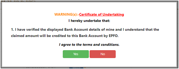 Employees' Provident Fund Online Claim